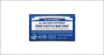 Test et avis du savon Dr Bronner's